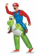 Mario Riding Yoshi Adult