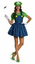 Luigi Skirt Adult Lg