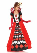 Queen of Hearts Dlx 2pc L