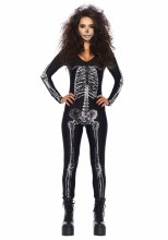 Catsuit Black X-Ray S