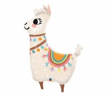 45'' Llama Lovable Shape