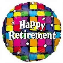 Happy Retirement ~ 18in Color-Block