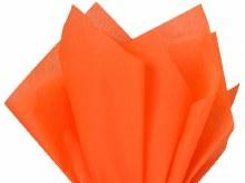 Tissue Wrap Neon Orange