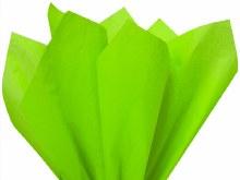 Tissue Wrap Neon Lime