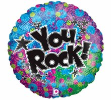 """You Rock Holographic ~ 18"""""""