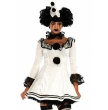 Pierrot Clown 3pc M/L