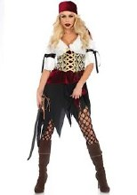 High Seas Wench 2pc Adult Sm