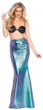 Mermaid Skirt Iridescent L