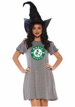 Basic Witch Jersey Dress L