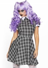 Dress Babydoll Plaid S