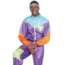 80s Track Suit Mens XL