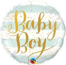 MYLR Baby Boy Stripes 18in