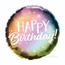 Blln 11'' Birthday Ombre