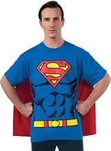 Superman T-Shirt Lg