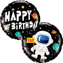 Happy Birthday Space & Astronaut ~ 18""