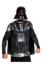 Darth Vader Top & Mask Large