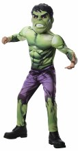 Hulk Dlx Muscle Child Lg