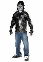 Metal Skull Biker 12-14