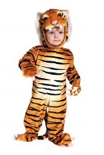 Tiger Jumpsuit Child 4-6