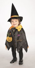 Cape Pumpkin/Witch Toddler
