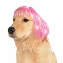 Wig Pet Pink Bob M/L