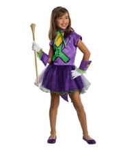 Joker Girl w/Tutu Child Sm