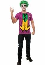 Joker Shirt w/ Wig Lg