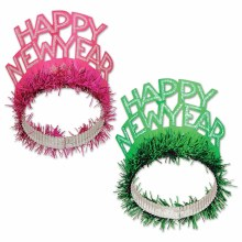 Tiara New Year Fringed Color