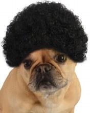 Black Afro Pet Wig M/L