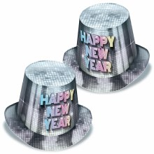 New Year Disco Fever Hi-Hats