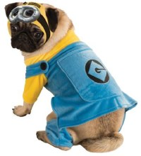 Minion Dog Costume Lg