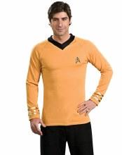 Captain Kirk Shirt Adult Lg