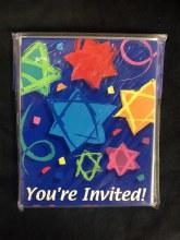 Star of David Invitations