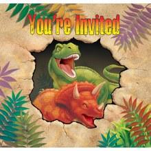 Dino Blast Invite