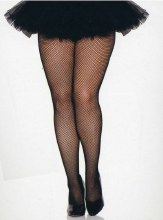 Nylons F/Net Black Queen Size