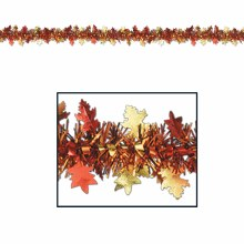 Garland Leaf Autumn Tinsel