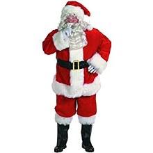 Santa Outfit Dlx XL