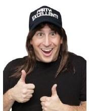Wayne SNL Hat w/ Hair