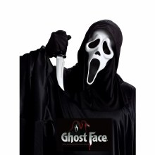 Ghost Face Mask & Knife Set