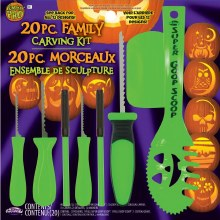 Pumpkion CarvingFamilyKit 20pc