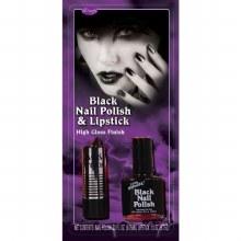 Lipstick Nailpolish Black
