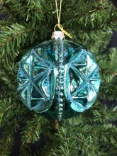 Old World Christmas Ornamend - Teal