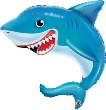 """Jumbo Shark With Smile ~ 36"""""""