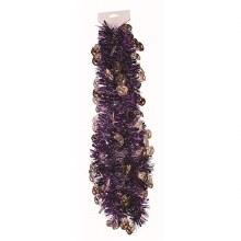 Garland Skulls Purple