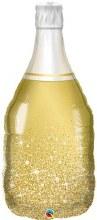 Golden Champagne Bottle ~ 39in