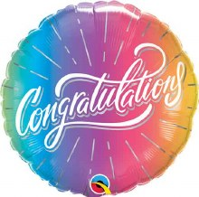 "MYLR Congratulations Ombre 18"""