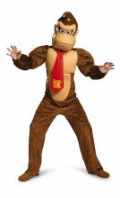 Donkey Kong Dlx Child Lg