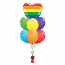 Balloon Bouquet ~ PRIDE HEART ~ Medium