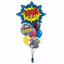 Balloon Bouquet Super Grad Avengers ~ Large