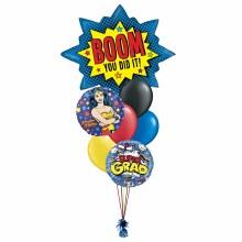 Balloon Bouquet Super Grad Wonder Woman ~ Large